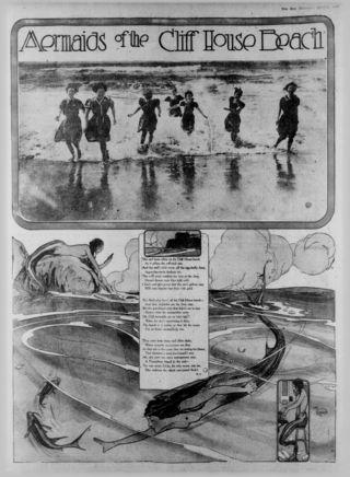MermaidsClifhouseBeachSanFran1916