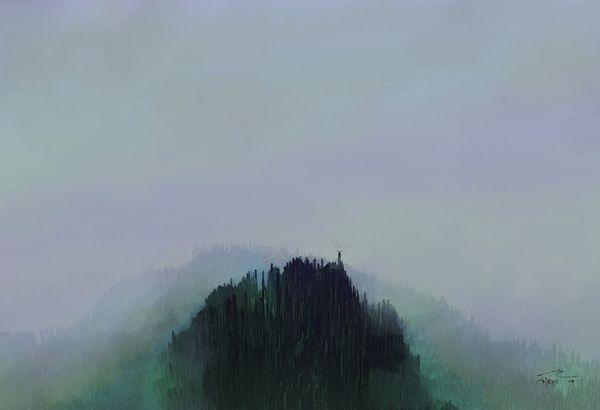 SheHasTheHeartOfTheWorldforest-13x19