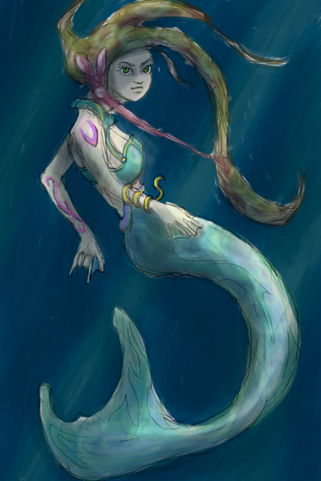 MermaidSketch3Display