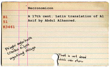 Necronomiconcard